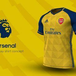 Arsenal Away Adidas EPL