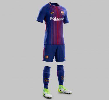 Divisa Barcellona 2017-2018 Nike