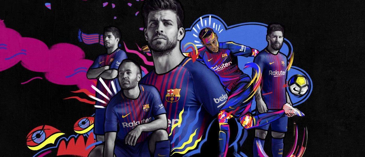 Nuova maglia Barcellona 2017-2018