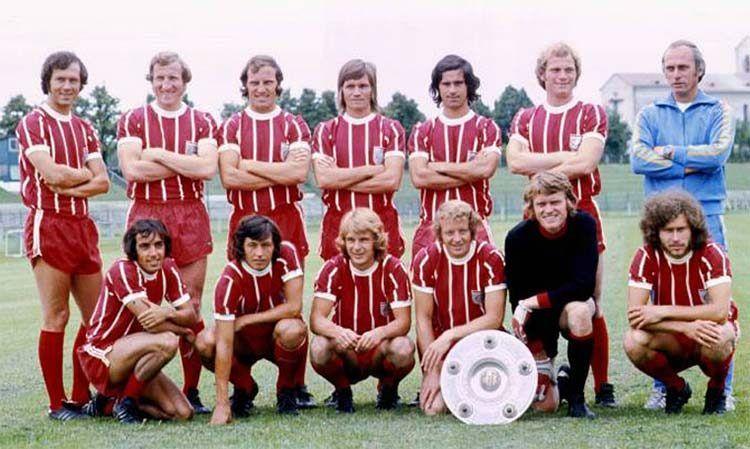 Bayern Monaco formazione 1973-1974