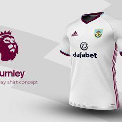 Burnley Away Adidas EPL