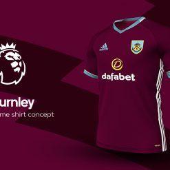Burnley Home Adidas EPL