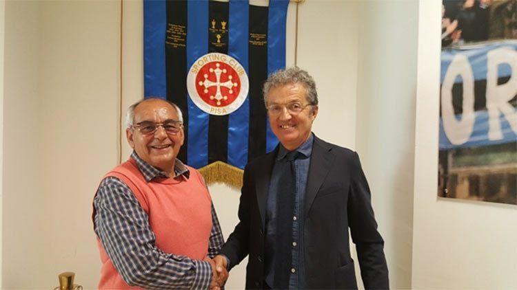 Corrado accordo Pisa-adidas