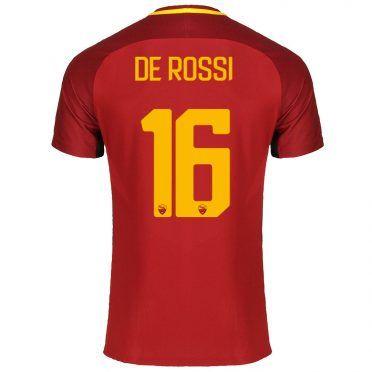 Maglia Roma 2017-18 De Rossi 16