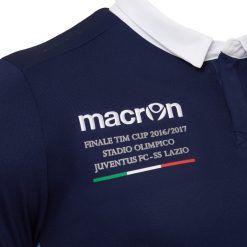 Ricamo celebrativo maglia Lazio Coppa Italia