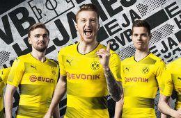 Presentazione nuova maglia Borussia Dortmund 2017-2018