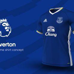 Everton Home Adidas EPL