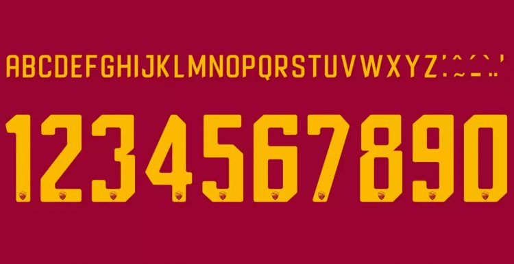 Font AS Roma 2017-2018 home