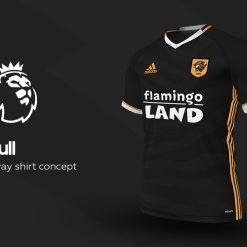 Hull City Away Adidas EPL