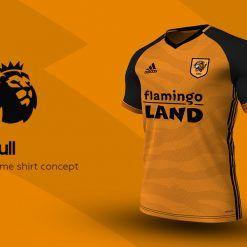 Hull City Home Adidas EPL