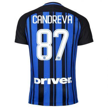 Maglia Inter Candreva 87, stagione 2017-18