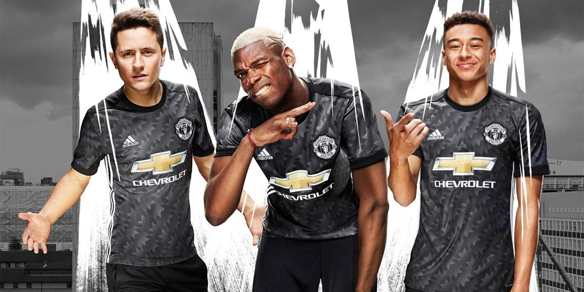Manchester United away kit 2017-2018 adidas