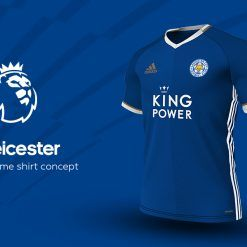Leicester Home Adidas EPL