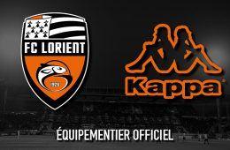 Kappa sponsor tecnico Lorient FC