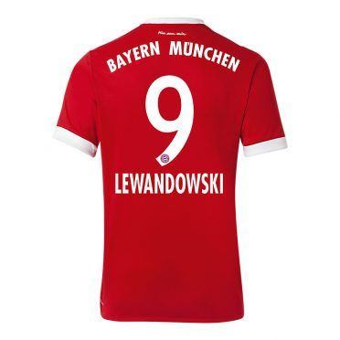 Maglia Bayern Monaco Lewandowski 2017-18