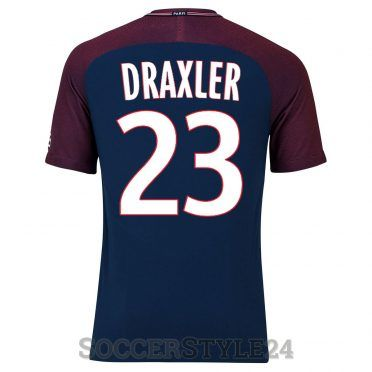 Maglia Paris Saint-Germain 2017-2018 Draxler