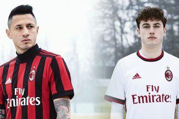 Maglie Milan 2017-2018 adidas