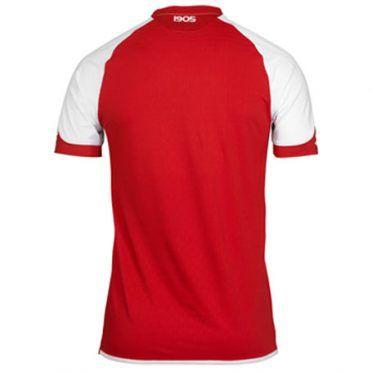 La maglia del Mainz 05 vista da dietro
