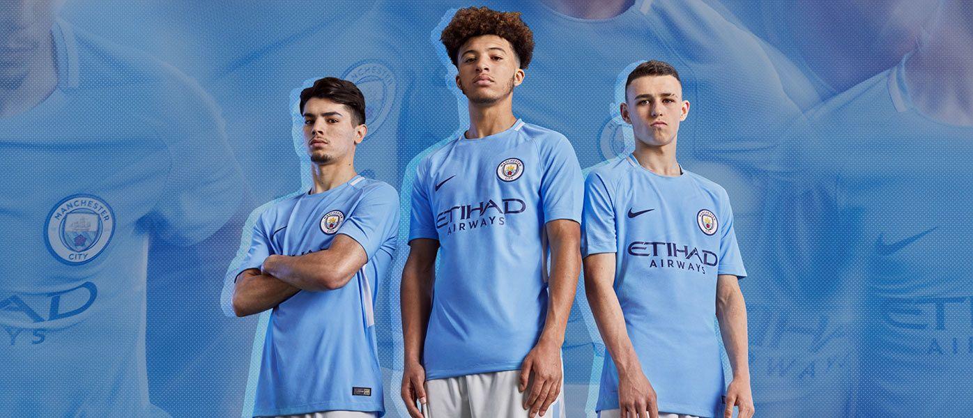 Nuova maglia Manchester City 2017-2018