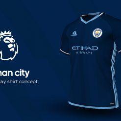 Manchester City Away Adidas EPL