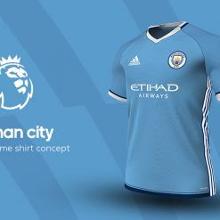 Manchester City Home Adidas EPL