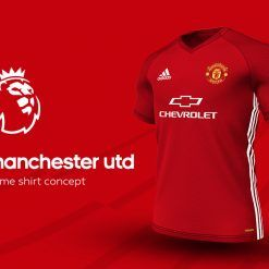 Manchester United Home Adidas EPL