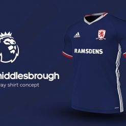 Middlesbrough Away Adidas EPL