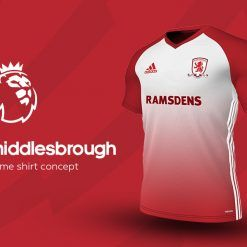 Middlesbrough Home Adidas EPL