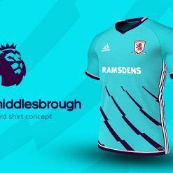 Middlesbrough Third Adidas EPL