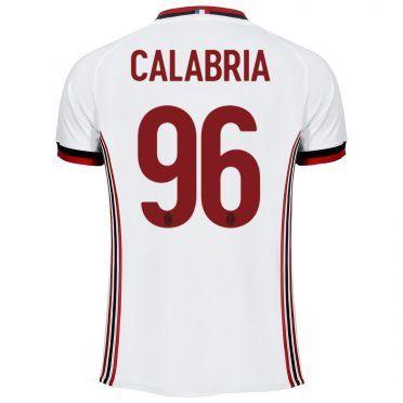 Maglia Milan away 2017-2018 - Calabria 96