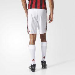 Pantaloncini e calzettoni Milan bianchi 2017-2018 adidas