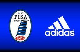 Adidas sponsor tecnico Pisa