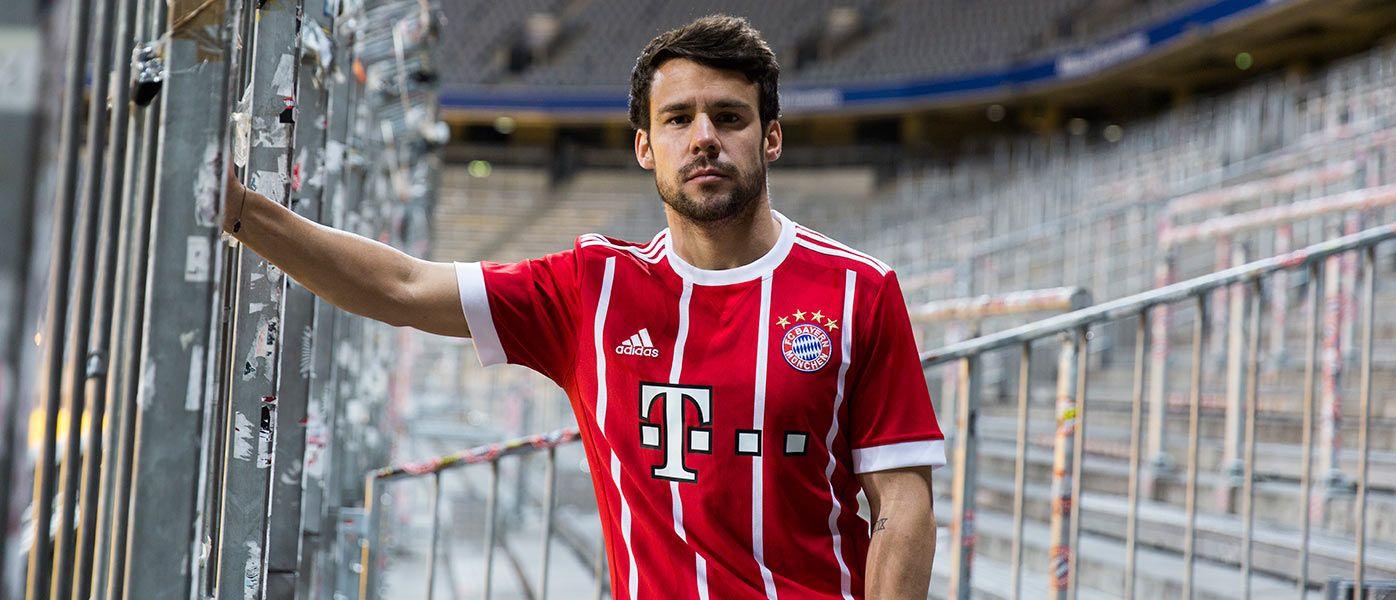 Presentazione maglia Bayern Monaco 2017-18
