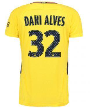 Maglia PSG away Dani Alves 32