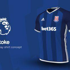Stoke City Away Adidas EPL