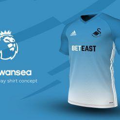 Swansea Away Adidas EPL