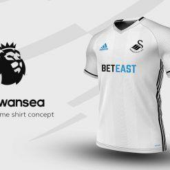 Swansea Home Adidas EPL