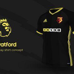 Watford Away Adidas EPL