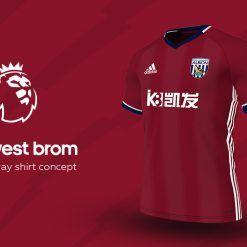 West Bromwich Away Adidas EPL