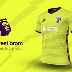 West Bromwich Third Adidas EPL