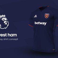 West Ham Away Adidas EPL