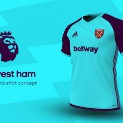West Ham Third Adidas EPL