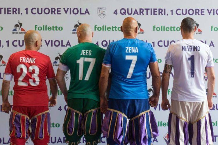 Fiorentina nomi e numeri 2017-18 font