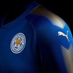 Inserto dorato manica Leicester City