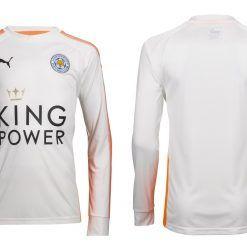 Seconda maglia portiere Leicester City 2017-2018