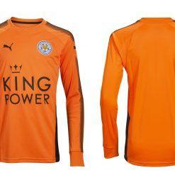 Leicester, terza divisa portiere arancione 2017-18