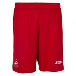 Pantaloncini rossi Swansea 2017-18