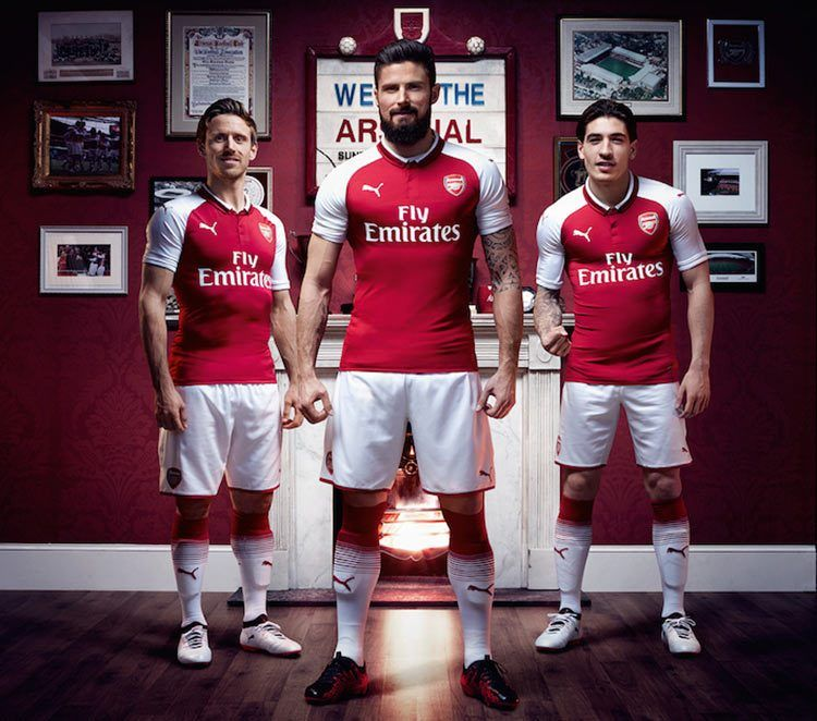 Divisa Arsenal 2017-2018 home