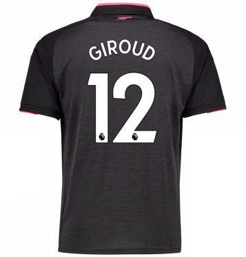 La terza maglia dell'Arsenal di Giroud, numero 12