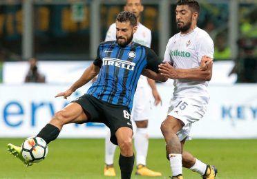 Candreva, Inter-Fiorentina